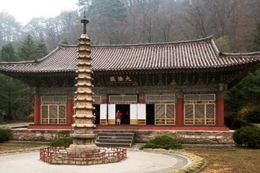 Poyhon-Tempel, Nordkorea
