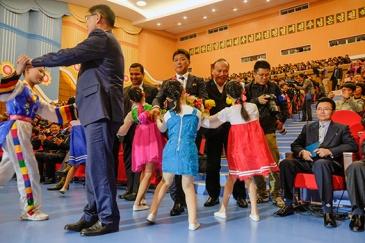 Schülerpalast Mangyongdae, Pjöngjang, Nordkorea