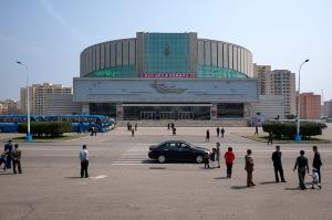 Blumen-Ausstellungshalle, Kimilsungilia, Kimjongilia, Pjöngjang Nordkorea