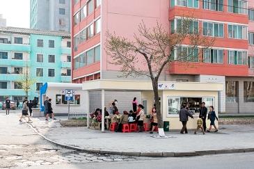 Kiosk, Pjöngjang, Nordkorea