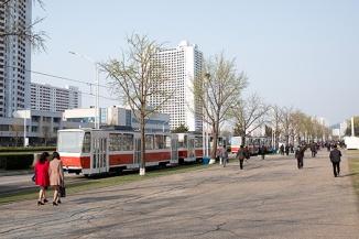 Straßenbahn, Pjöngjang, Nordkorea