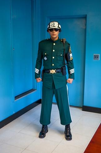 Grenze, Südkorea, DMZ, Panmunjeon