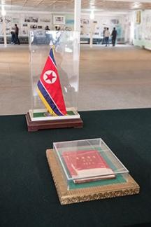 Grenze, Nordkorea, DMZ, Panmunjeon
