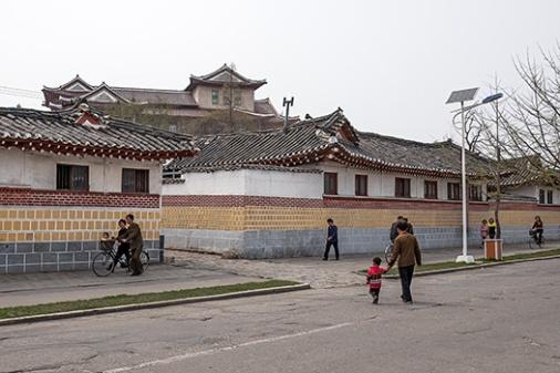 Altstadt, Kaesong, Nordkorea, Sonderwirtschaftszone