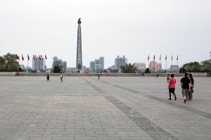 Kim-Jong-Il-Platz, Pjöngjang, Nordkorea