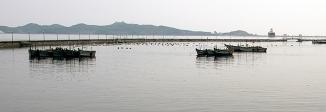 Nordkorea, Wonsan, Meer