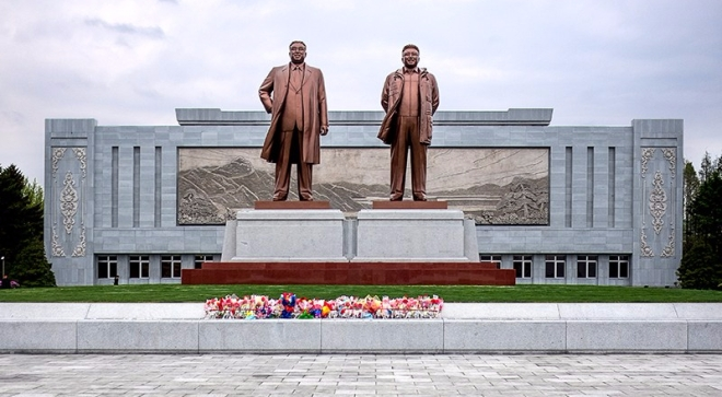 Monument, Führer, Wonsan, Nordkorea