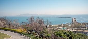 Nampo, Westmeerstaudamm, Nordkorea