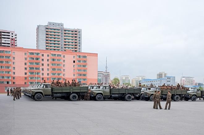 Militärmuseum, Pjöngjang, Nordkorea