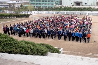 Mittelschule, Pjöngjang, Nordkorea
