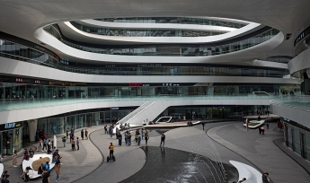 Zaha Hadid Architekts, ZHA, Galaxy SOHO, Beijing, China