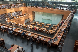 Nationalbibliothek, Jürgen Engel, Peking, China, Architektur