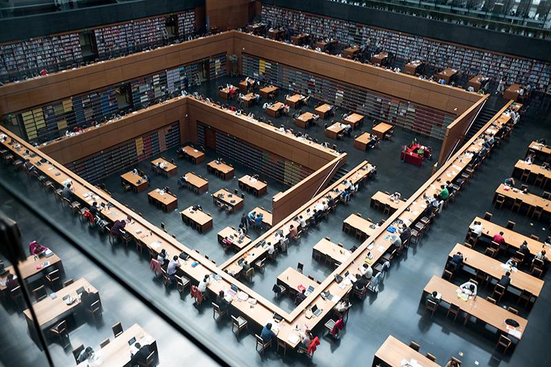 Nationalbibliothek, Jürgen Engel, Peking, China, Architektur, Beijing