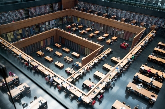 Nationalbibliothek, Jürgen Engel, Peking, China, Architektur, Beijing
