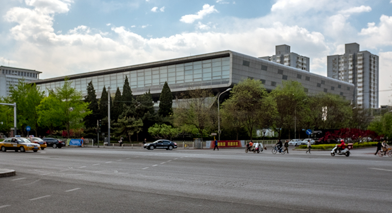 Nationalbibliothek, Jürgen Engel, Peking, China, Architektur
