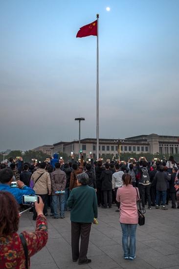 Platz (am Tor) des Himmlischen Friedens